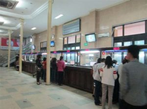 hanoi train station ticket
