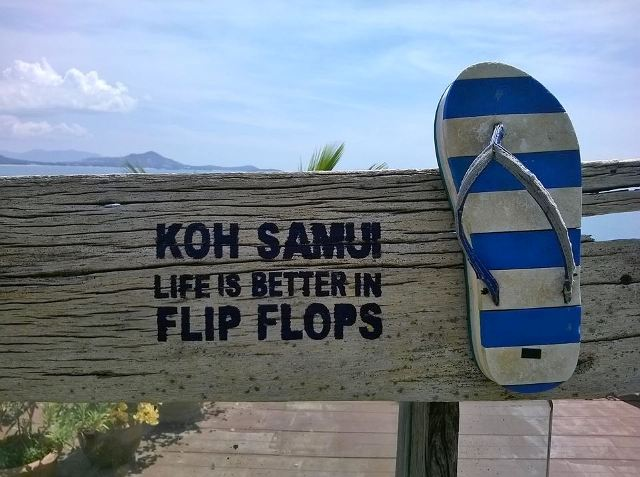 Vacanze studio: perché Koh Samui? Because life is better in flip flop!!!